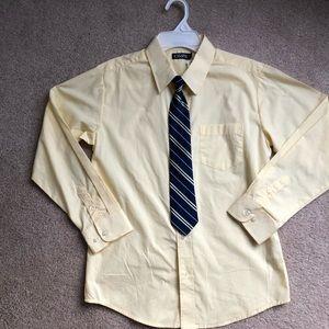 Size 14 chaps dress shirt NWT